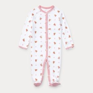 Ralph Lauren 6m footie pajamas